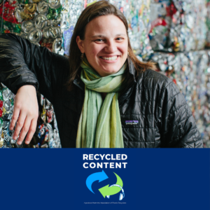 Kate Davenport on Recycled Content